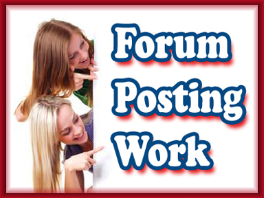 Make Money Posting on Forums