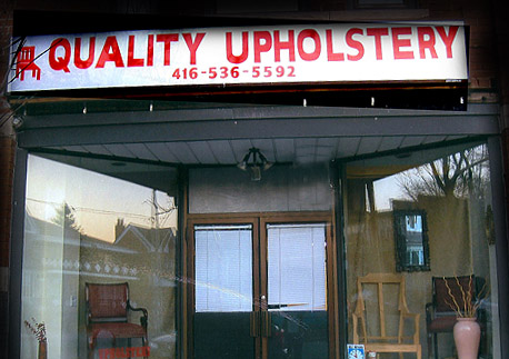 Upholstery Business